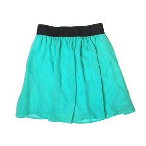 Forever 21 Mint Skater Skirt